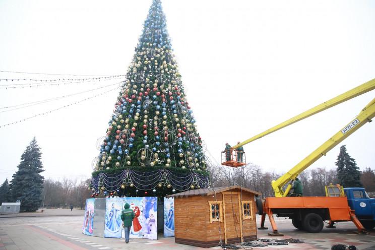 Скоро Новий рік: На Полтавщині у Кременч…