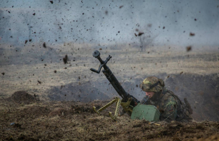 "Оккупанты на Донбассе 8 раз нарушили ""ре…"