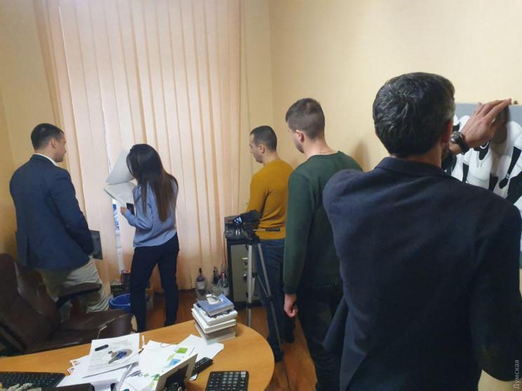 """В Одесі на телеканалі """"Думська.TV"""" НАБУ…"""
