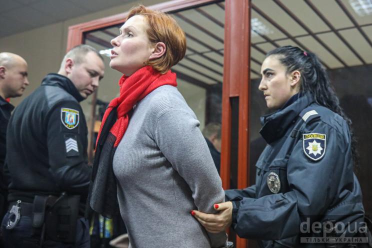 Відео дня: Бійка в суді над Кузьменко і…