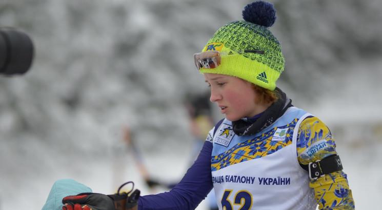 14-річна українська біатлоністка встанов…