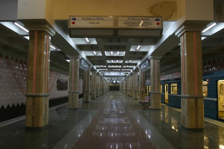 В Харькове в новогоднюю ночь метро будет…