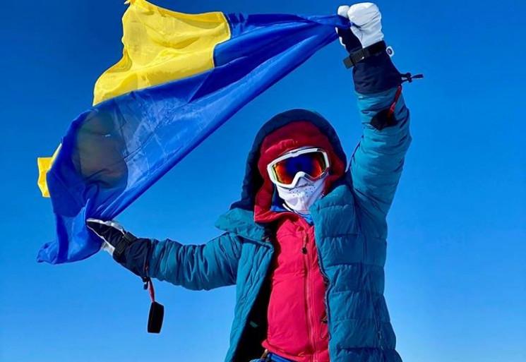 Ще одна українка зійшла на сім найвищих…