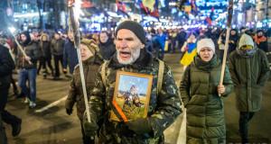 Як у Києві смолоскипною ходою привітали…