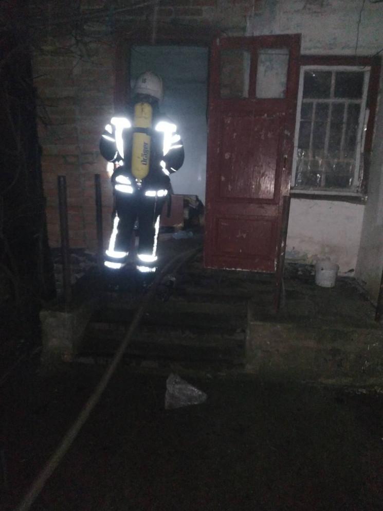 На Кропивнитчине во время пожара в доме…
