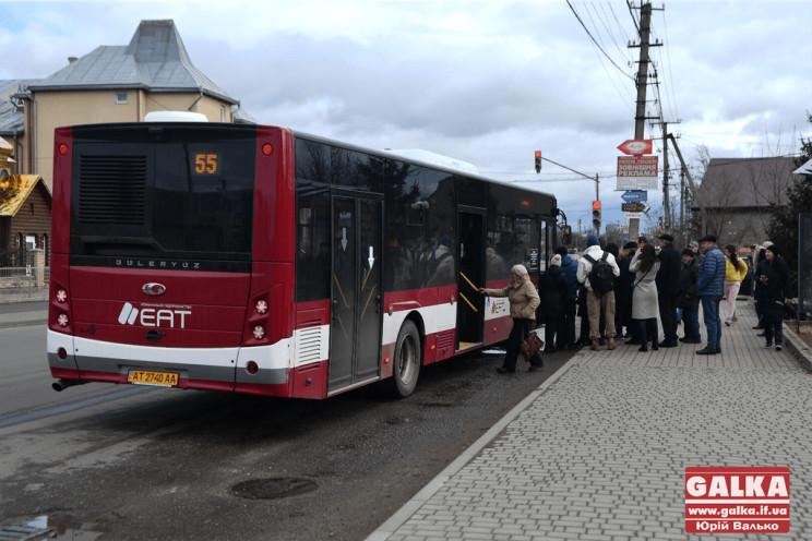 У комунальному транспорті Франківська по…