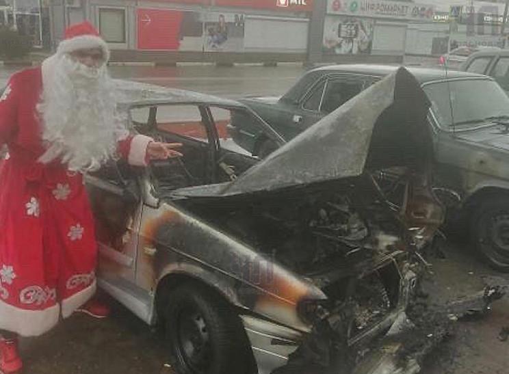 В Кропоткіні в новорічну ніч згоріли два…