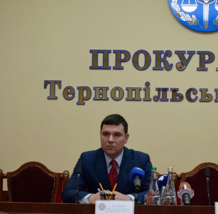 Тернопільщина отримала нового прокурора…