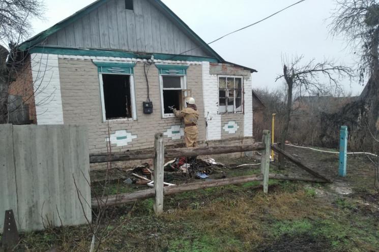 На Харківщині на згарищі знайшли труп мо…