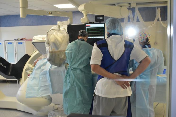 В течение года в больнице Днепра спасли…
