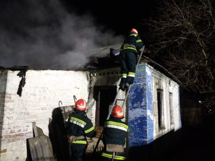 На Кропивниччині вночі сталася пожежа. Є…
