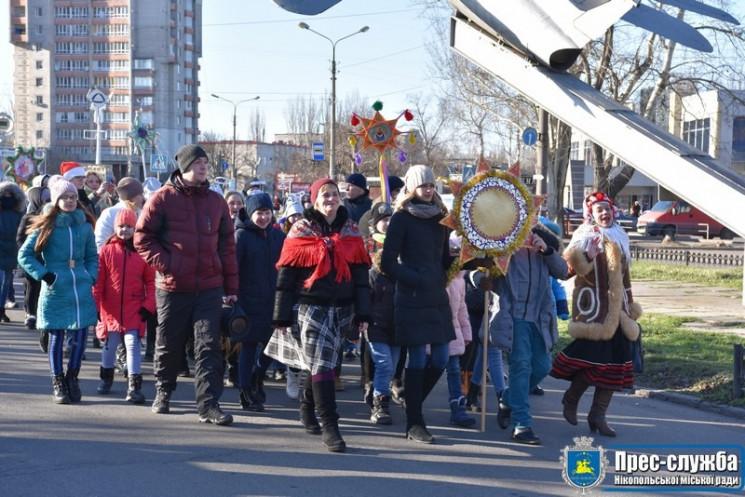 Вулицями міста на Дніпропетровщині ходив…