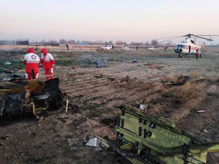 Іран збив український пасажирський літак…