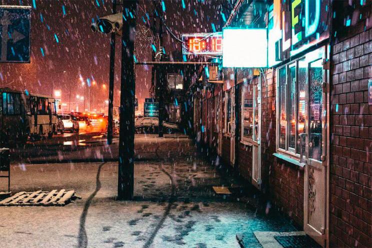 Сьогодні на Кубані випаде сніг…
