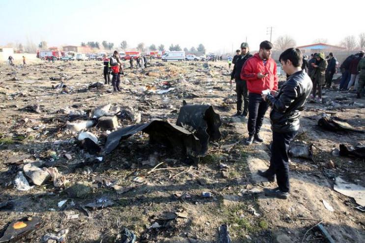 З'явилося відео страшної авіакатастрофи…