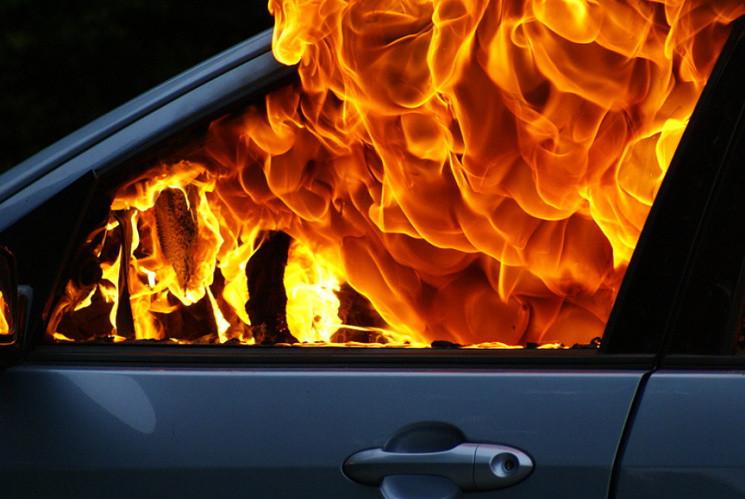 На Тернопільщині горіло дві автівки…