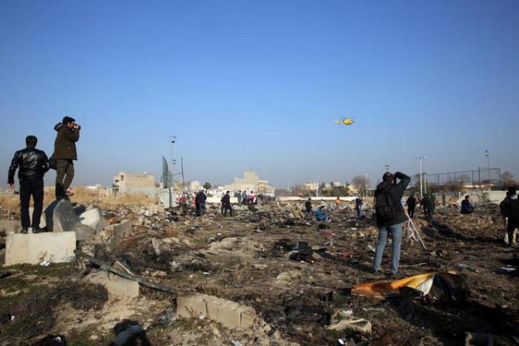 Авіатроща літака МАУ: У Тегерані знайшли…