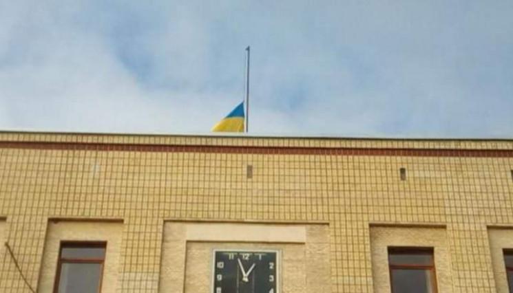 На будівлі ОДА Кропивниччини спустили пр…