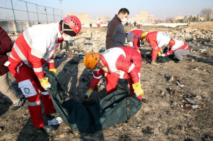 Українська авіакатастрофа в Ірані вже др…