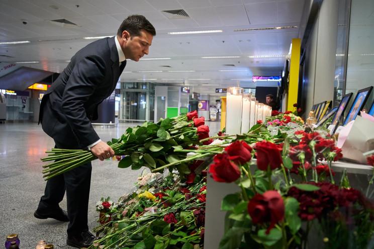 Зеленський вшанував пам'ять жертв авіатр…