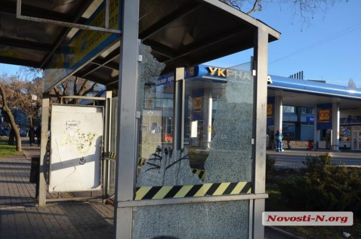 """В центре Николаева вандалы устроили """"охо…"""