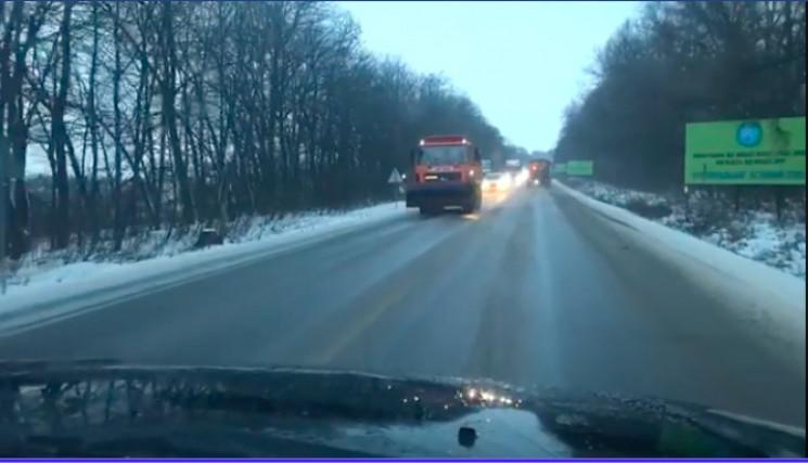 На Тернопільщині дороги покрилися льодом…