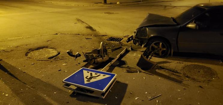 На Молдаванці внаслідок ДТП пошкоджено з…