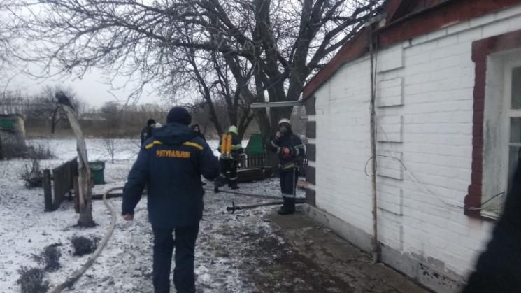 На Дніпроперовщині на пожаре погиб челов…