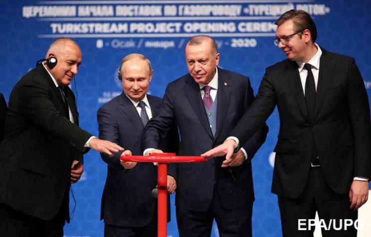 """Запуск """"Турецького потоку"""": Чому Путін з…"""