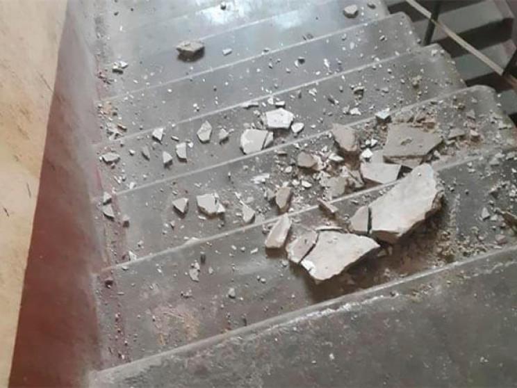 В Краснодарі в аварійному будинку обвали…