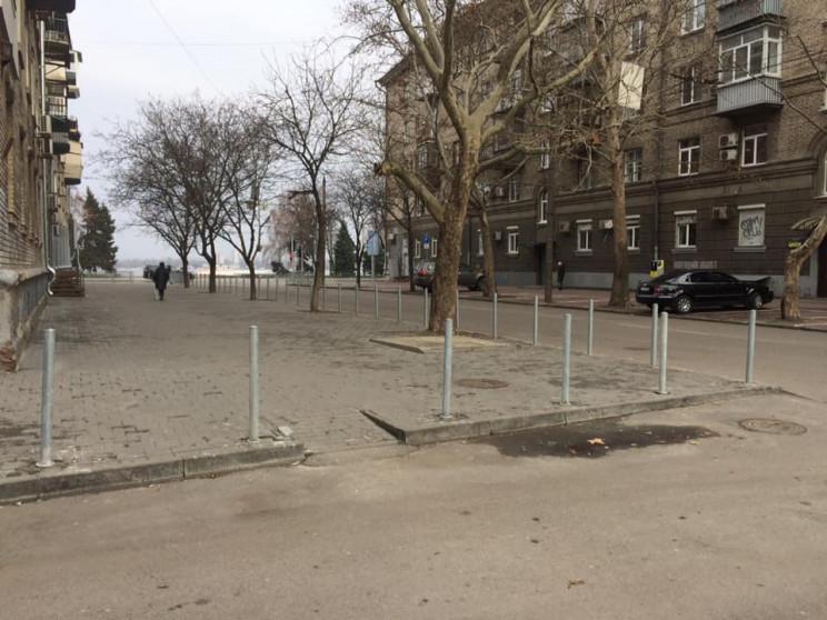 """В Днепре центральную улицу """"обезопасили""""…"""