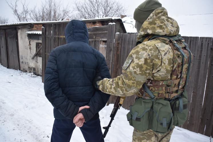 На Донеччині затримали екс-бойовика, яки…