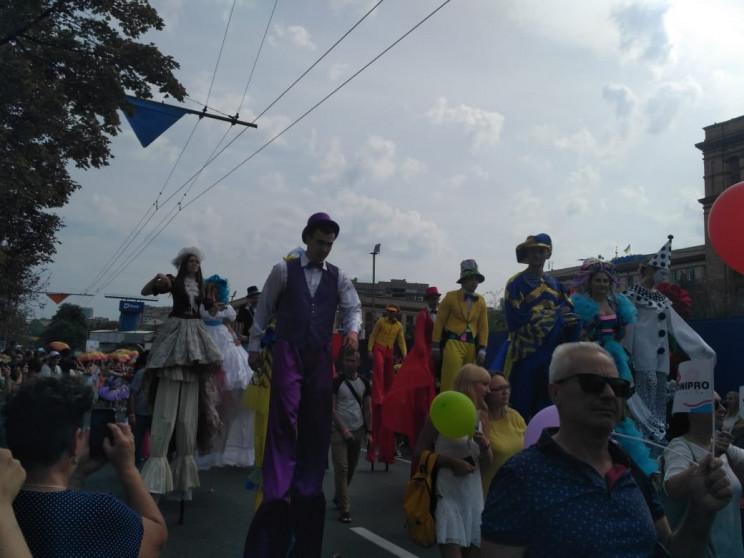 Самый большой кот и карнавальное шествие…