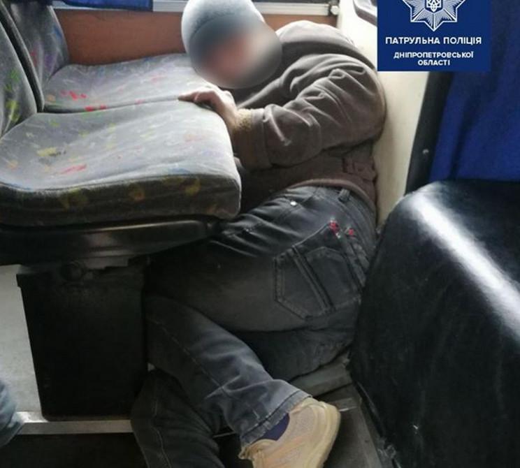 В маршрутке в Днепре обнаружили ребенка…