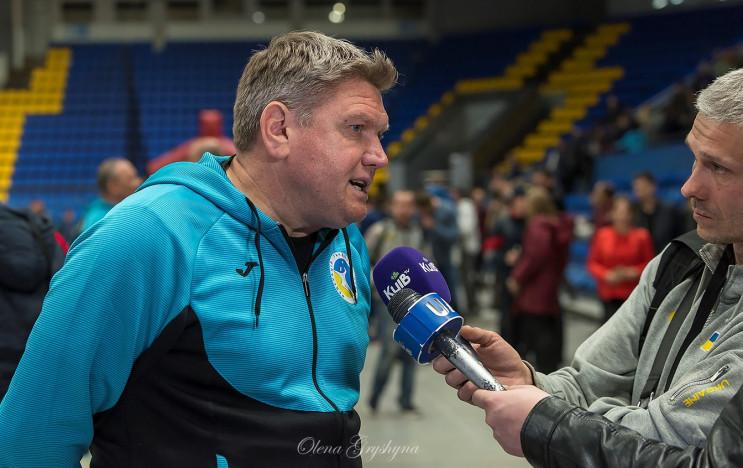 Тренер збірної України емоційно прокомен…