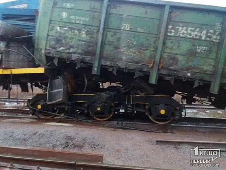 Столкновение на железной дороге: В Криво…