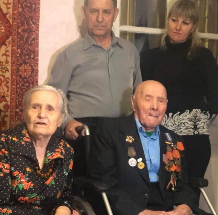 В Днепре почти 100-летние супруги отпраз…