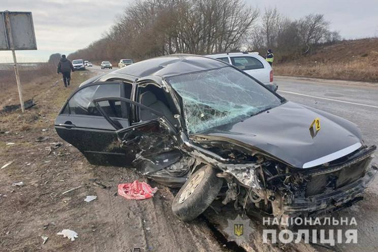 На Тернопільщині зіткнулися дві автівки:…