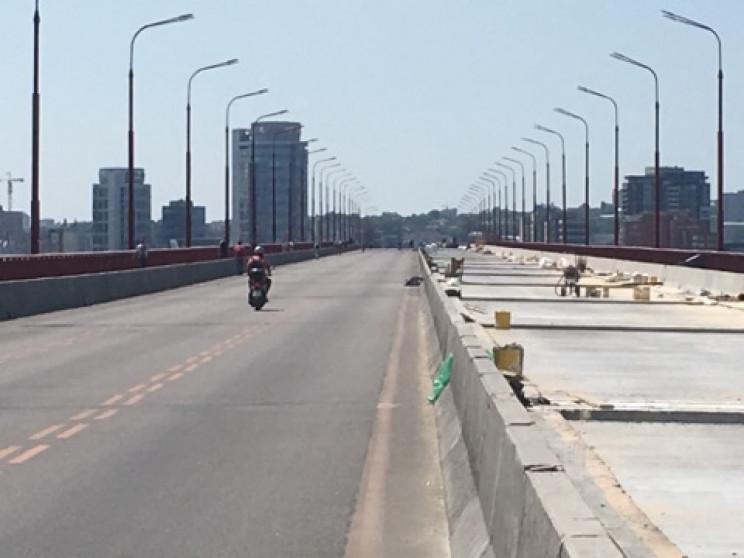 У Дніпрі продовжать ремонт Нового мосту…