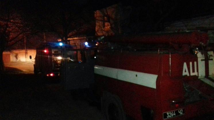 В Кропивницкому ночью горел вагончик в п…