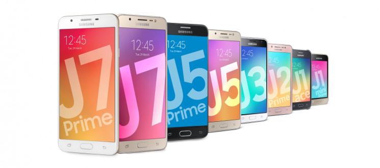 Смартфони Samsung Galaxy J: огляд серії…