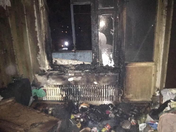 У Запоріжжі під час пожежі ледь не загин…
