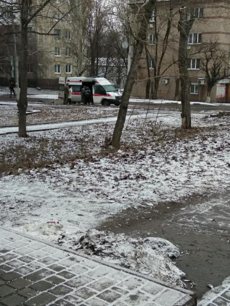 В окупованому Донецьку загорівся автомоб…