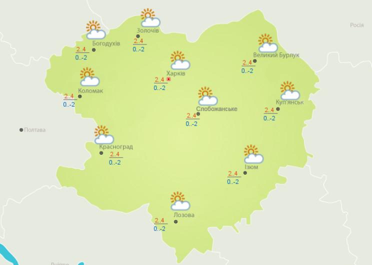 В Харькове изменится ветер и немного пот…