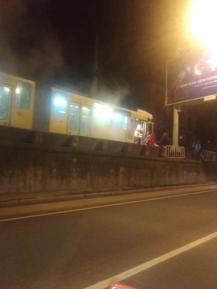 У Львові задимівся трамвай (ФОТО)…