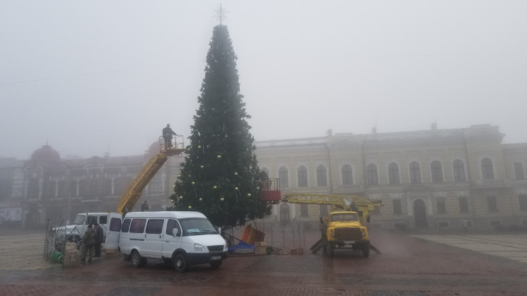 У Кропивницькому демонтують новорічну ял…