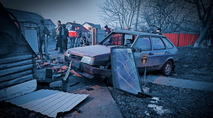 На Тернопільщині водій на авто охоронної…