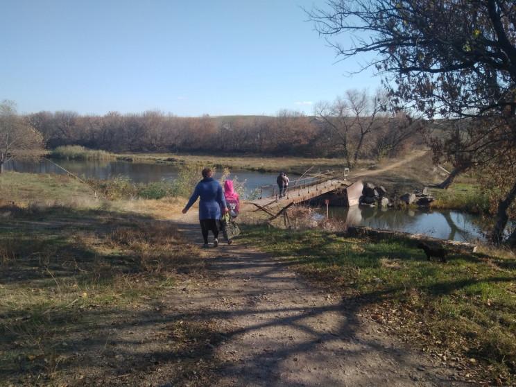 Изолированное село: В Донецкой области в…