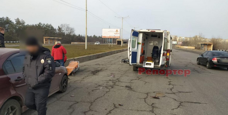 У Кам'янському автівка збила пенсіонера…