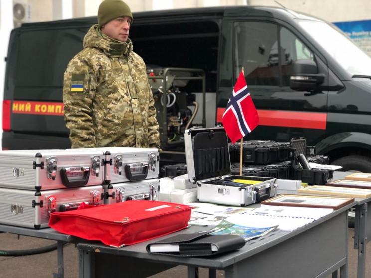 Уряд Норвегії передав прикордонникам на…